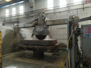 used 1600 mm disc bridge saw, used bridge saw